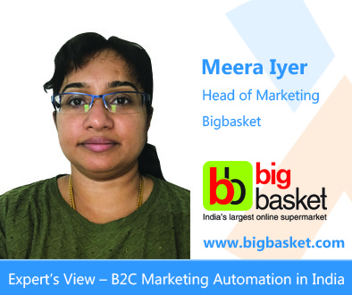 Meera Iyer on MarTech at big basket