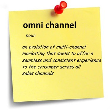 Omni channel sticky note
